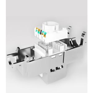 CAT 6a Keystone Modul Jack STP/RJ45 4x