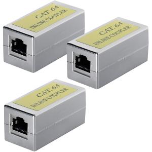 CAT6a Kupplung Verbinder Ethernet Adapter Modular Geschirmt 1x