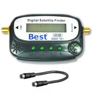 SAT Finder Best Digital HQSF 101 mit F-Anschlusskabel