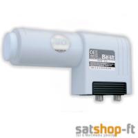 LNB TWIN 0,1dB BEST Germany FullHD 2 Teilnehmer HQRF Switch DIGITAL
