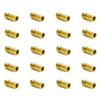 F -Kompression F-Stecker vergoldet - 7-7,2mm