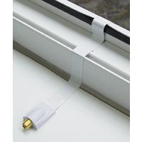 Fensterdurchführung SAT Flachkabel SAT Kabel HDTV Türen Durchführung W 3x