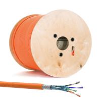 Cat 7 Verlegekabel Netzwerkkabel Simplex Duplex Cat7 Installation Kabel 10Gbit Cat7 Simplex 100m Abrollbox