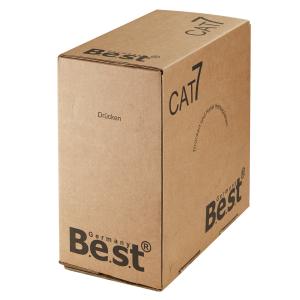 Cat 7 Verlegekabel Netzwerkkabel Simplex Duplex Cat7 Installation Kabel 10Gbit Cat7 Duplex 100m Abrollbox