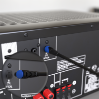 Optisches Kabel / Toslink Digital Audio Kabel - LWL SPDIF Hifi PS4 5mm Flexibel