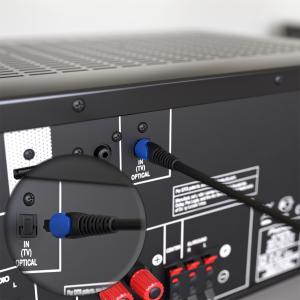 Optisches Kabel / Toslink Digital Audio Kabel - LWL SPDIF Hifi PS4 5mm Flexibel 1m