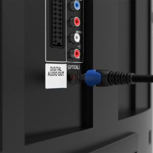 Optisches Kabel / Toslink Digital Audio Kabel - LWL SPDIF Hifi PS4 5mm Flexibel 5m