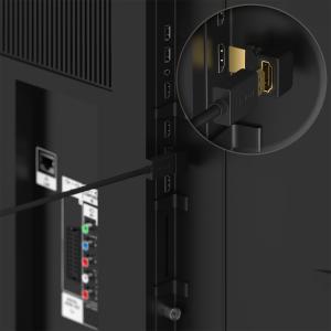 HDMI Winkelstecker 90° & 270° gewinkelt Kabel...
