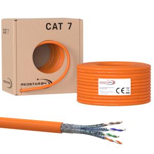 Cat.7 Netzwerkkabel Verlegekabel 1000 MHz S/FTP 100 m...